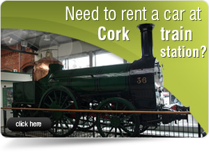 car  at Cork train station